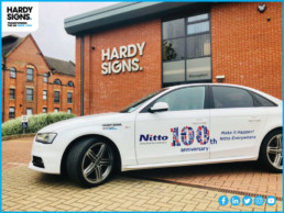 Nitto Denko - Hardy Signs - Vehicle SignageNitto Denko - Hardy Signs - Vehicle Signage