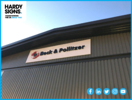 Beck & Pollitzer - Hardy Signs - 3D Outdoor Lettering