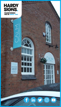 Calm Yoga Studio - Hardy Signs - Fascia Signs