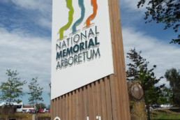 National Memorial Arboretom | Indoor/Outdoor Signage | Hardy Signs