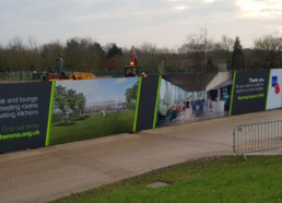 National Memorial Arboretum | Outdoor Signage | Hoarding Signage | Industrial Signs | Hardy Signs | 2018 | 1