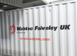Wabtec Faiveley | Vehicle Signage | Hardy Signs | 2018 | 36