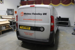 Wabtec Faiveley | Vehicle Signage | Hardy Signs | 2018 | 13