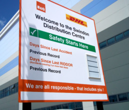 B&Q | Outdoor Signage | Hardy Signs