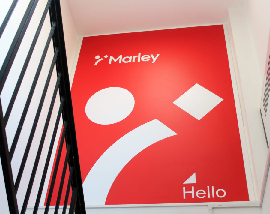 Marley LTD | Indoor Signage | Stairwell Signs | Printed Foamex Signs Panel | Hardy Signs | 2018 | 10