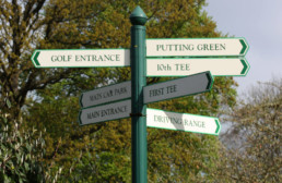 Branston Golf & Country Club | Outdoor Signage | Wayfinding Signage | Hardy Signs | 4