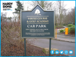 Branston Golf & Country Club - Hardy Signs - Post & Panel Signage