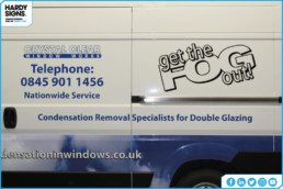 Crystal Clear Window Works | Vehicle Signage | Vehicle Wrapping | Hardy Signs | 2019 | 13
