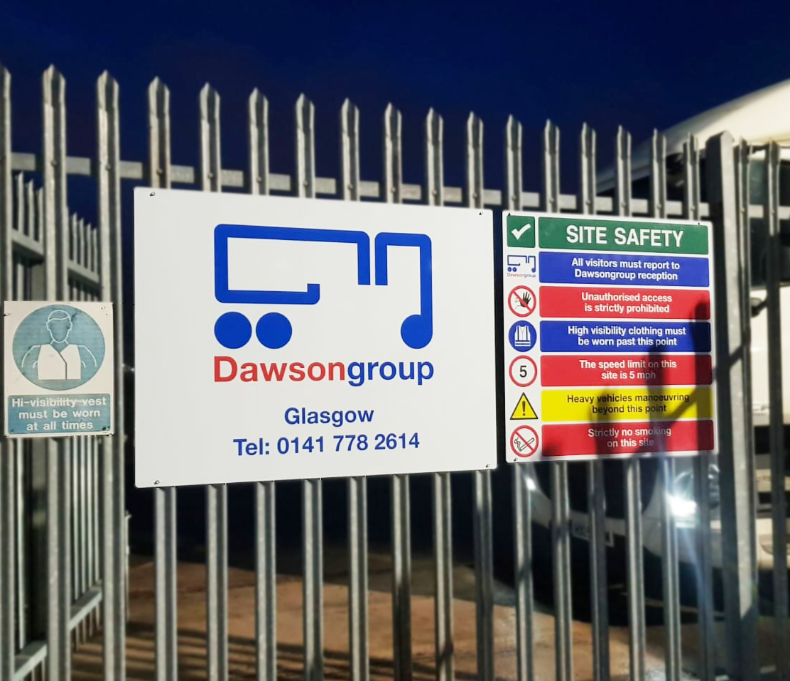Hardy Signs Deliver Dawsongroup 23 Site Nationwide Rebrand
