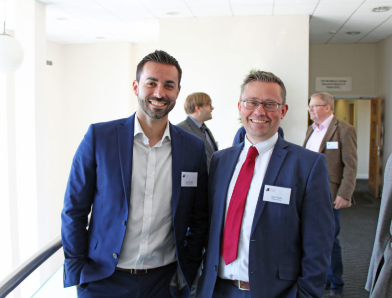 Andy Rudkin, Neil Howie at BDCC AGM 2019