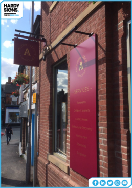 Adcott Opticians | Business Signs | Shop Signs | Hardy Signs Ltd | 2019