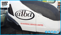 Alba De-Watering Services - Hardy Signs - Vehicle Livery - 2020 - 5