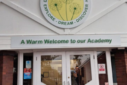 Dosthill Primary Academy - Hardy Signs - External Signage - 2020