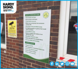 Dosthill Primary School - Hardy Signs - External Signs