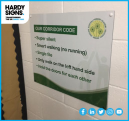Dosthill Primary School - Hardy Signs - School Signs