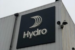 Hydro - Hardy Signs - Illuminated 3D lettering