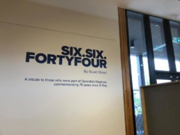 six six forty four - hardy signs - wall graphics