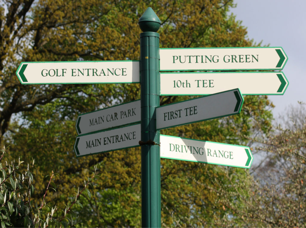 Branston Golf Club - Hardy Signs - Post and panel (3)