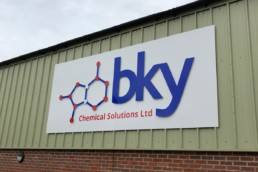 bky Chemical Solutions Ltd - Hardy Signs - Outdoor Signage