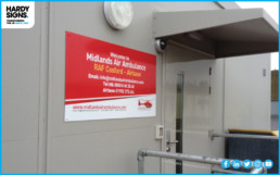 Midlands Air Ambulance - Hardy Signs - ACM Panel