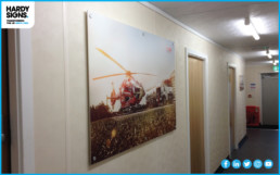 Midlands Air Ambulance - Hardy Signs - Indoor Signs
