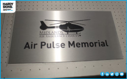 Midlands Air Ambulance - Hardy Signs - Panel Signs