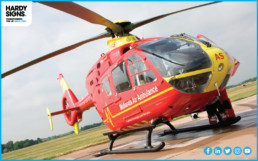 Midlands Air Ambulance - Hardy Signs - Vehicle Graphics