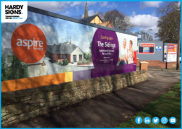 Aspire Housing - Hardy Signs - External Signage