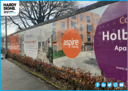Aspire Housing - Hardy Signs - New Build Signs