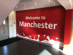 Muller - Manchester - Hardy Signs - Wall Graphics