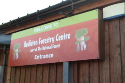 Rosliston Forestry Centre - Hardy Signs - ACM Panel