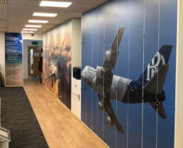 Turbine System Technologies - Digitally Printed Wallpaper for you offices (2)
