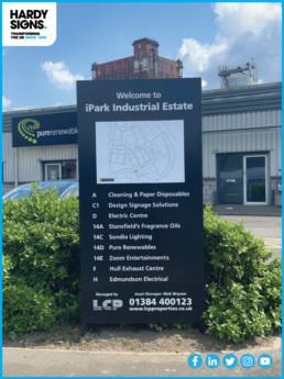 LCP - Hardy Signs - Totem Signage