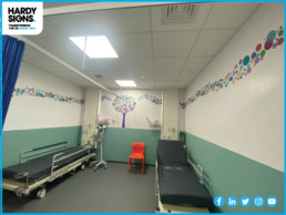 Northampton General Hospital - Hardy Signs - Wallpaper and Wall Graphics
